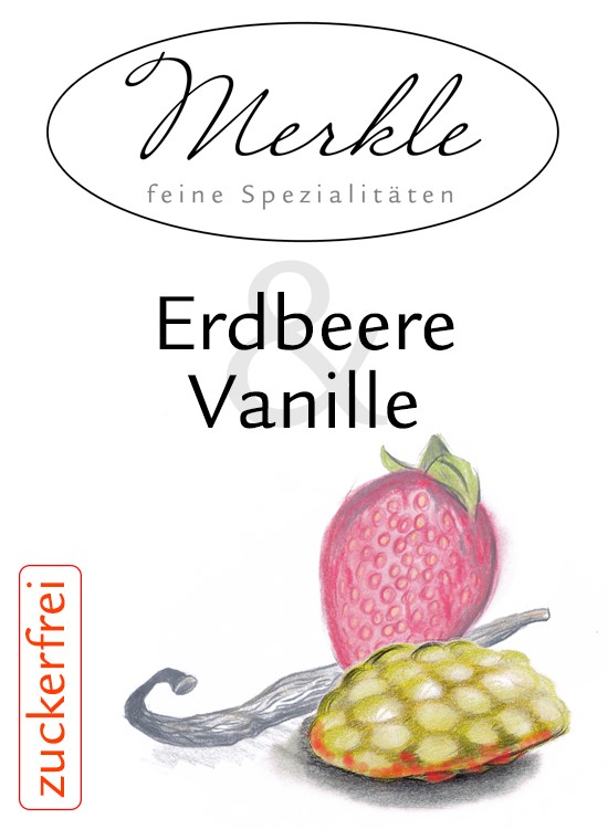 Erdbeere Vanille Zuckerfrei