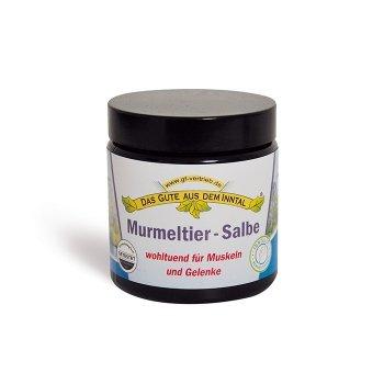 Murmeltier Salbe 110 ml im Glastiegel