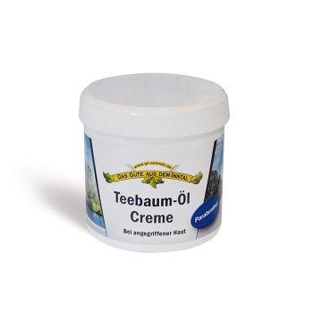 Teebaum-Öl Creme 200 ml Parabenfrei