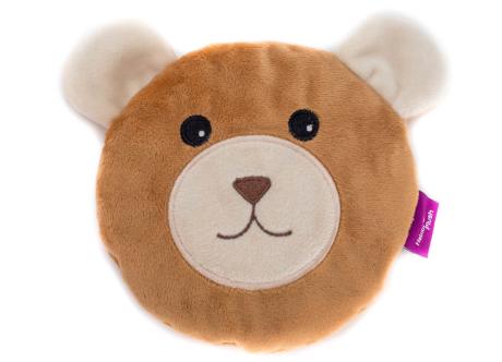 Habibi Wärmekissen Bär mit herausnehmbarem Duftsäckchen, Hülle waschbar, ca. 15cm