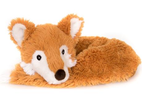 PREMIUM - Nackenhörnchen Fuchs mit Klettverschluss