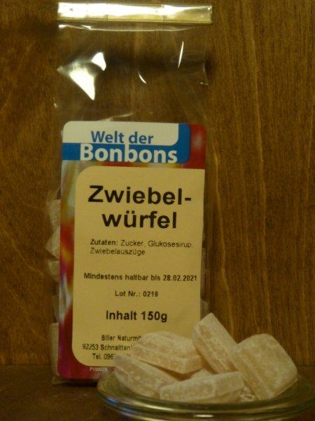 Bonbons Zwiebelwürfel 150g